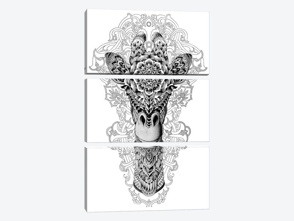 Giraffe by Bioworkz 3-piece Canvas Artwork