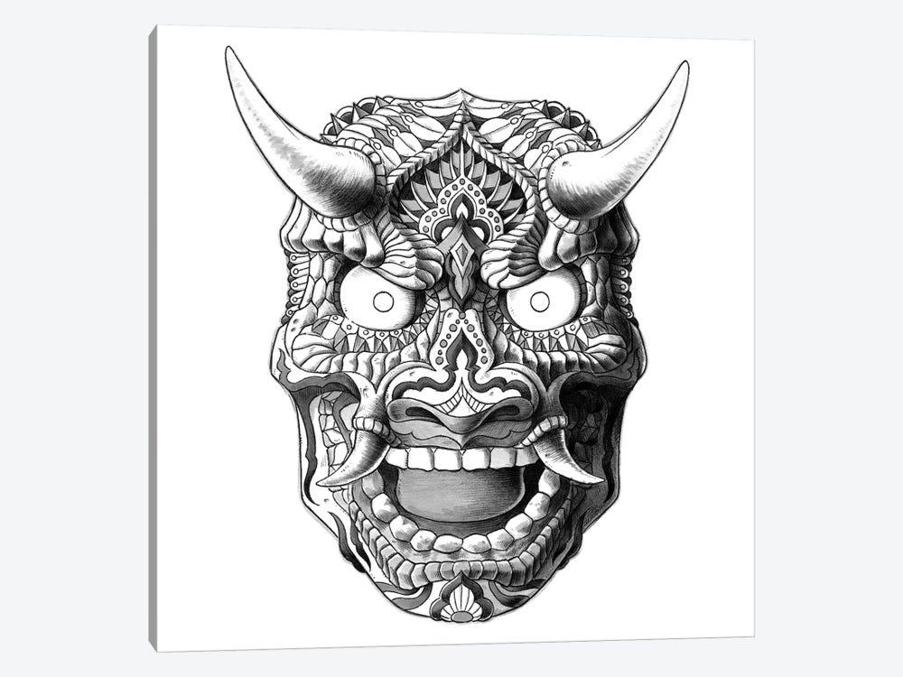 Japanese Demon Mask II by Bioworkz 1-piece Art Print