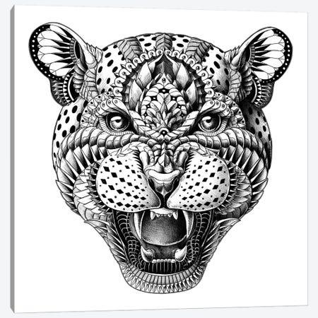 Leopard Canvas Print #BWZ14} by Bioworkz Art Print