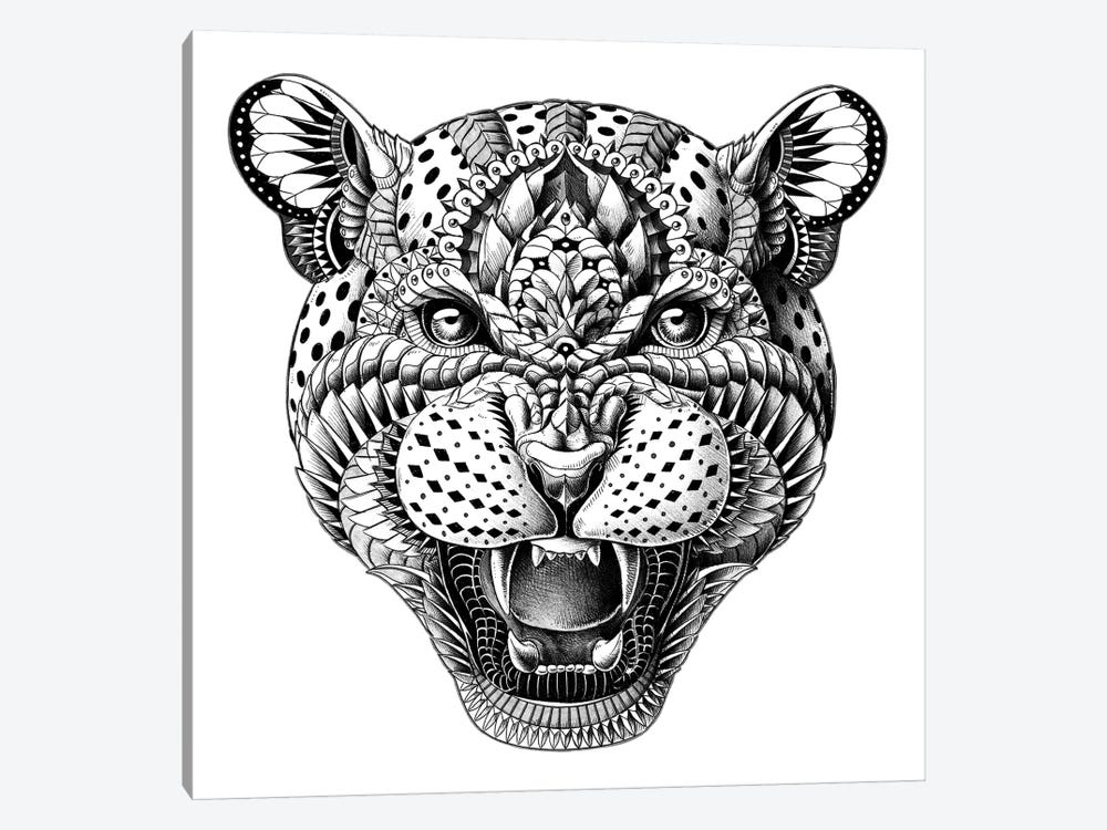 Leopard by Bioworkz 1-piece Canvas Artwork