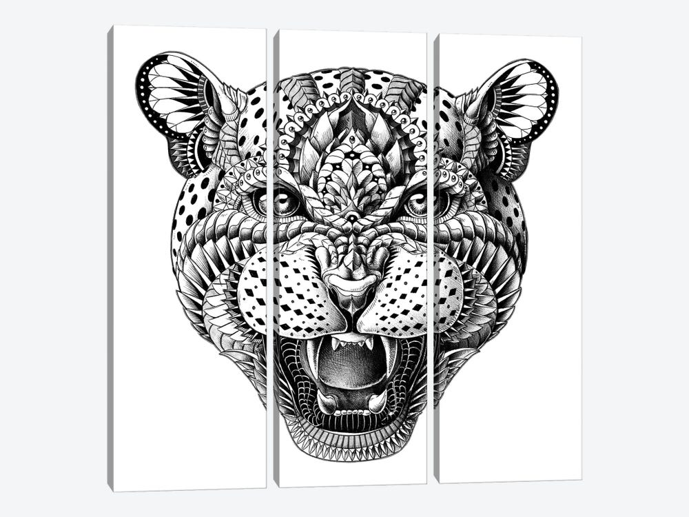 Leopard by Bioworkz 3-piece Canvas Art
