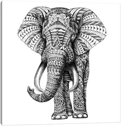 Ornate Elephant I Canvas Art Print