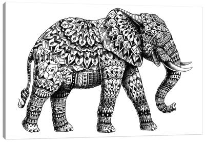 Ornate Elephant II Canvas Art Print