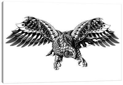 Ornate Falcon Canvas Art Print
