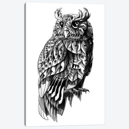 Ornate Owl Canvas Print #BWZ21} by Bioworkz Canvas Print