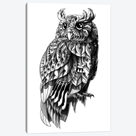 Ornate Owl Canvas Print #BWZ21} by Bioworkz Canvas Print