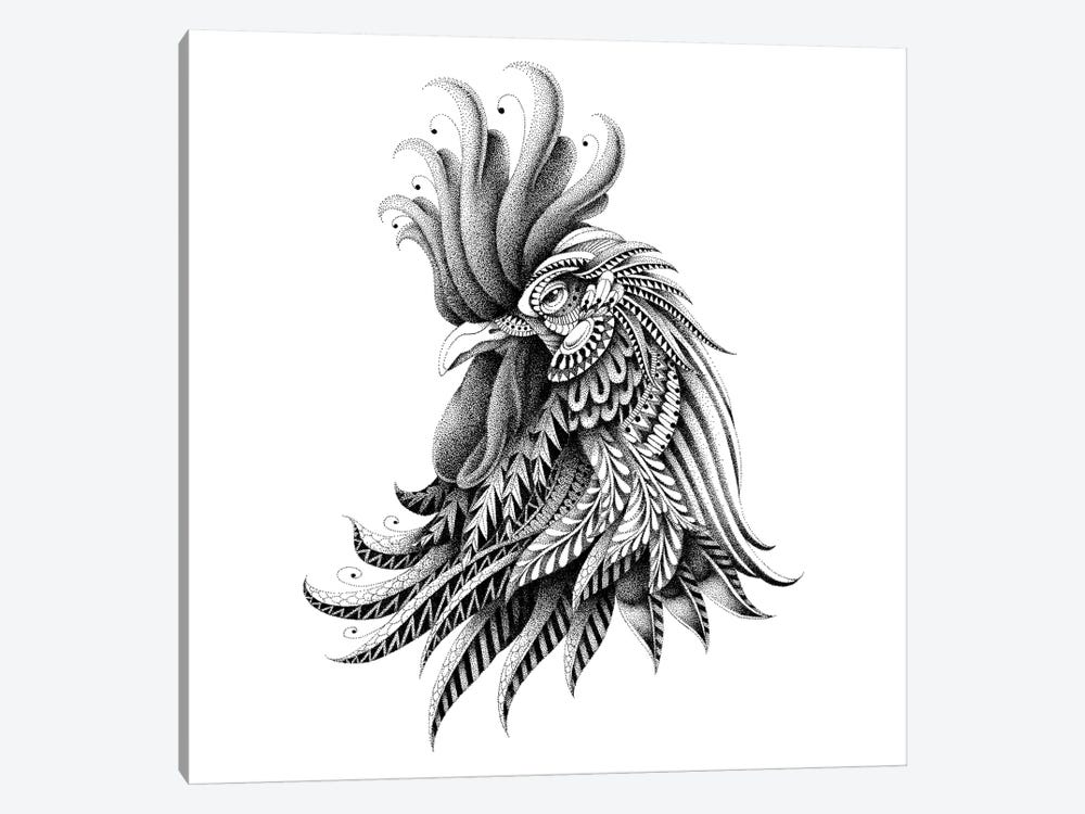 Ornate Rooster by Bioworkz 1-piece Canvas Wall Art