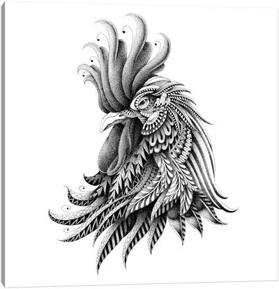 Ornate Rooster Canvas Art Print