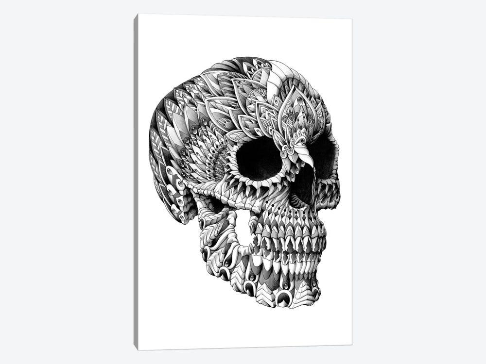 Skull Man Cave Decor : Ornate skull canvas wall art by bioworkz icanvas