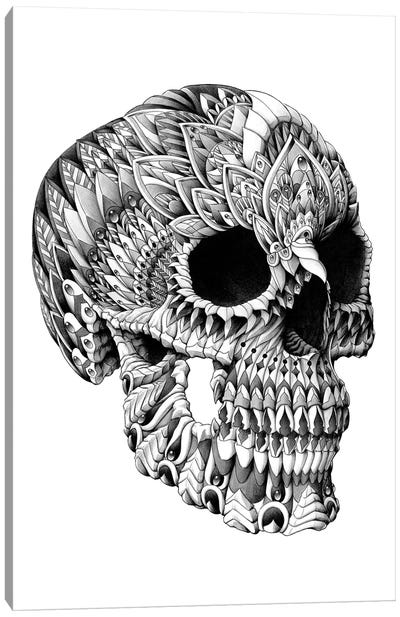 Ornate Skull Canvas Art Print