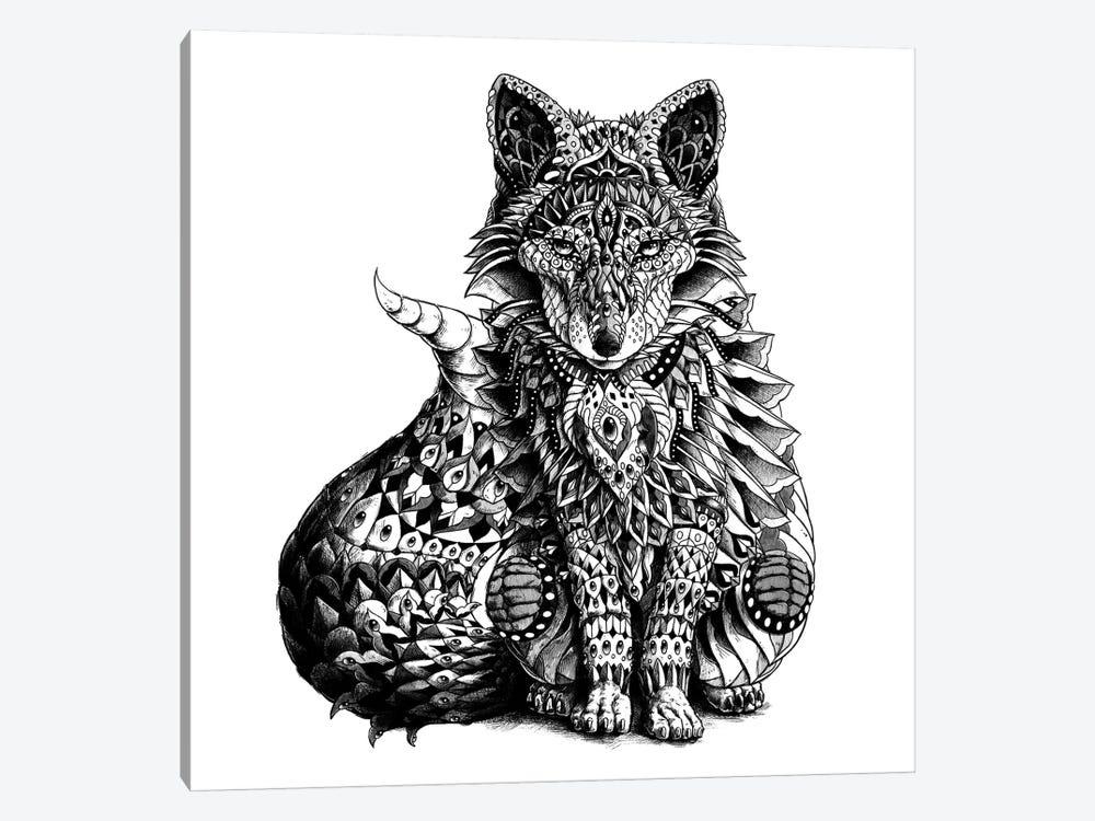 Red Fox by Bioworkz 1-piece Canvas Art Print