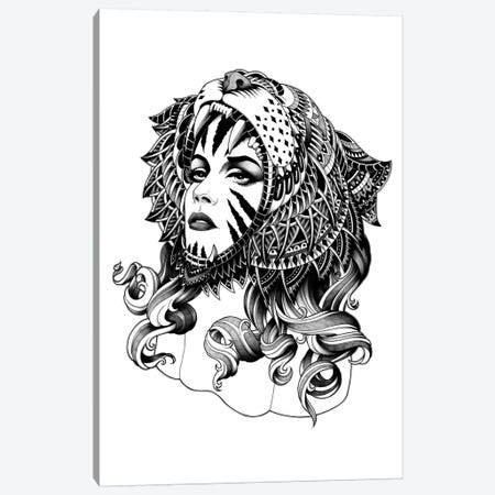 Tigress Canvas Print #BWZ37} by Bioworkz Canvas Art Print