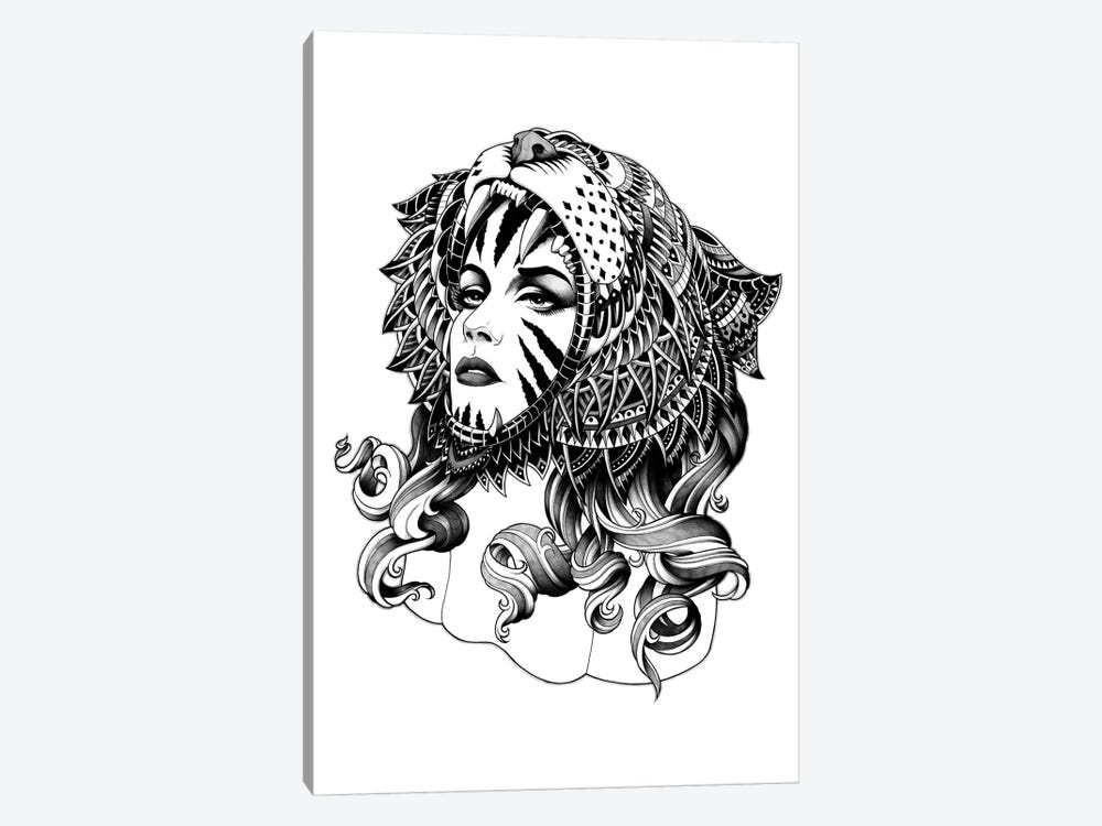 Tigress by BIOWORKZ 1-piece Canvas Print
