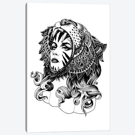 Tigress Canvas Print #BWZ37} by Bioworkz Canvas Art Print