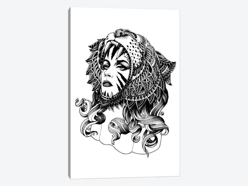 Tigress by Bioworkz 1-piece Canvas Print