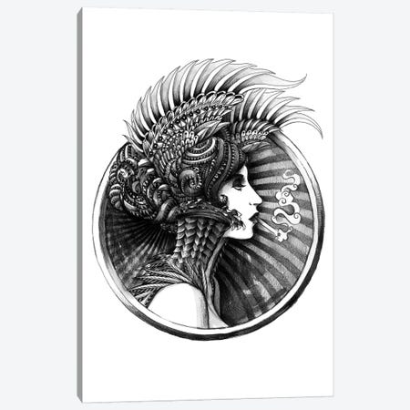 Valkyrie Canvas Print #BWZ38} by Bioworkz Canvas Art
