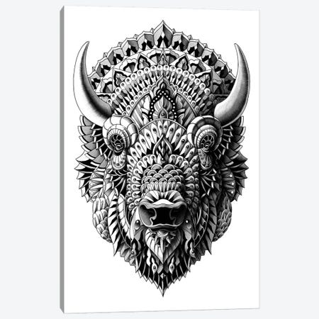 Bison Canvas Print #BWZ3} by Bioworkz Canvas Artwork