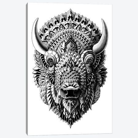 Bison Canvas Print #BWZ3} by Bioworkz Canvas Artwork