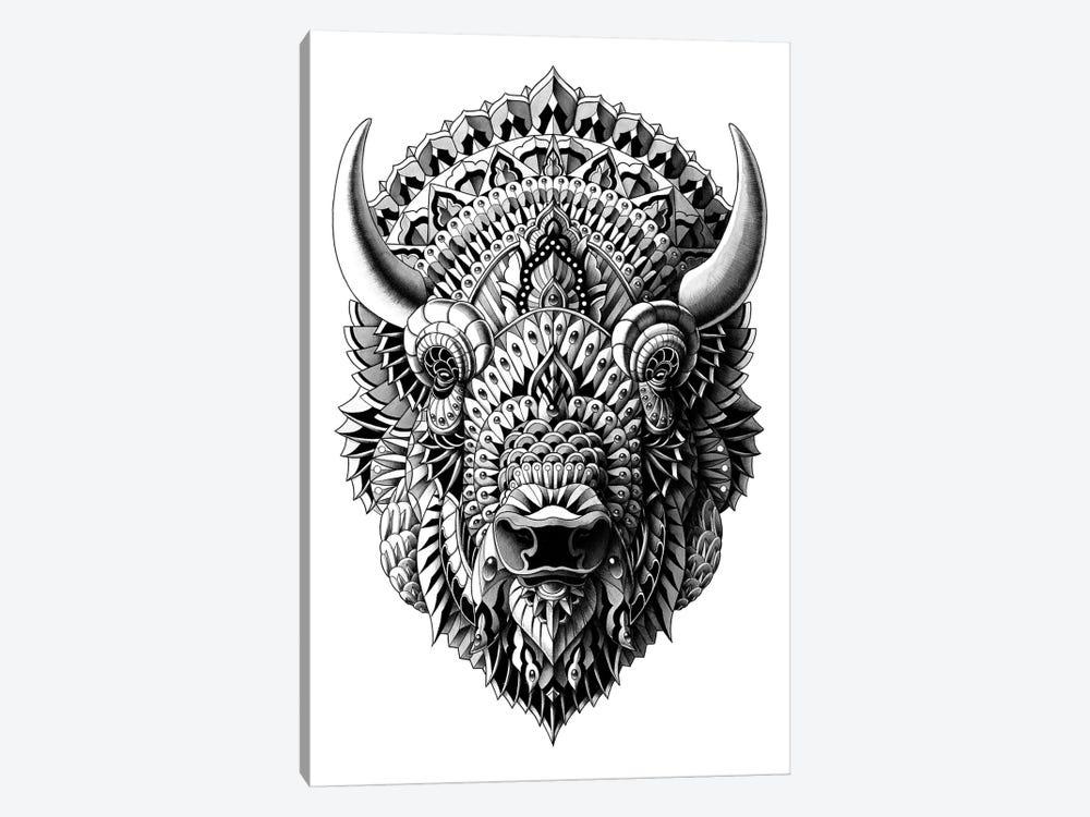 Bison by Bioworkz 1-piece Canvas Art