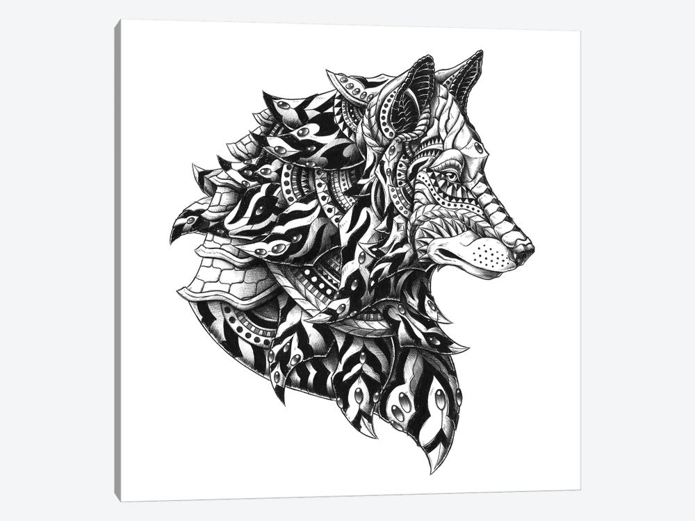 Wolf Profile by Bioworkz 1-piece Art Print