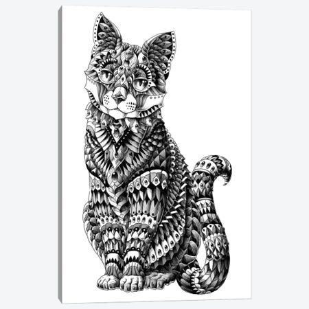 Cat Canvas Print #BWZ45} by BIOWORKZ Canvas Artwork