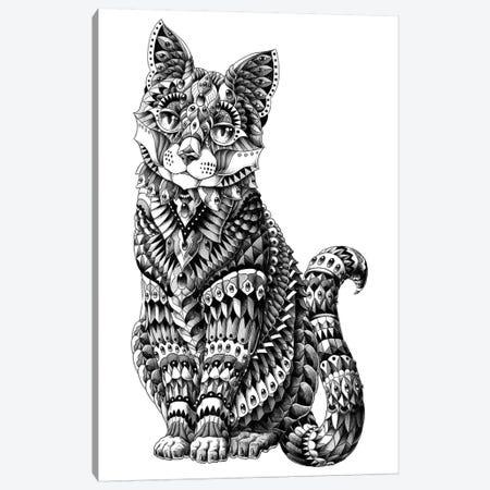 Cat Canvas Print #BWZ45} by Bioworkz Canvas Artwork