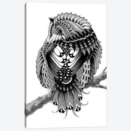 Chickadee Canvas Print #BWZ46} by Bioworkz Canvas Wall Art
