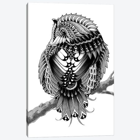 Chickadee Canvas Print #BWZ46} by Bioworkz Canvas Wall Art