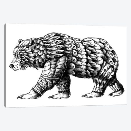 Cali Bear Canvas Print #BWZ4} by Bioworkz Canvas Print