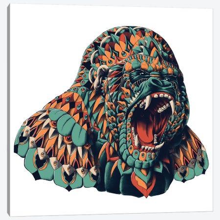 Gorilla In Color I Canvas Print #BWZ55} by Bioworkz Canvas Print