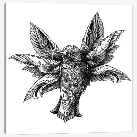 Hummingbird Canvas Print #BWZ62} by Bioworkz Canvas Print