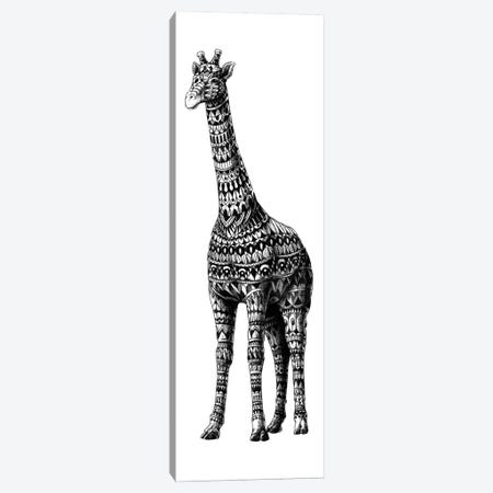 Ornate Giraffe Canvas Print #BWZ79} by Bioworkz Canvas Art
