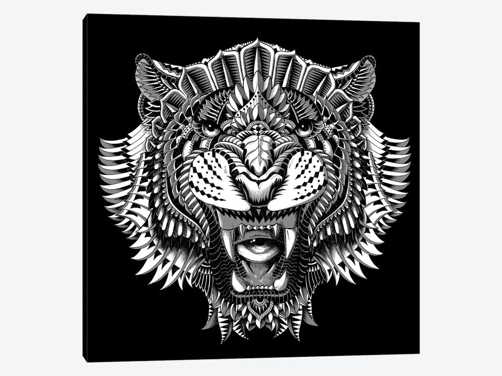 Eye Of The Tiger by Bioworkz 1-piece Canvas Art
