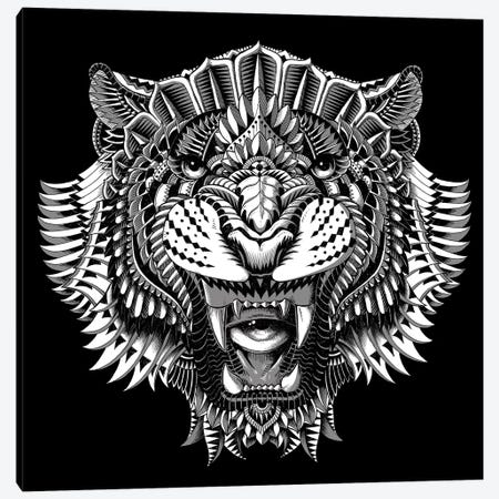 Eye Of The Tiger Canvas Print #BWZ7} by Bioworkz Canvas Art Print