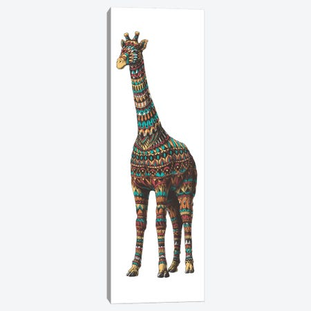 Ornate Giraffe In Color II Canvas Print #BWZ81} by Bioworkz Canvas Print