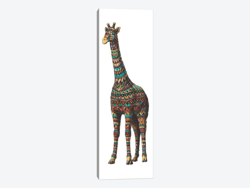 Ornate Giraffe In Color II by Bioworkz 1-piece Canvas Artwork