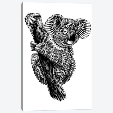 Ornate Koala Canvas Print #BWZ84} by Bioworkz Canvas Art