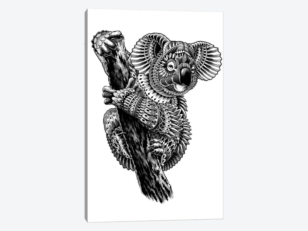 Ornate Koala by Bioworkz 1-piece Canvas Art Print