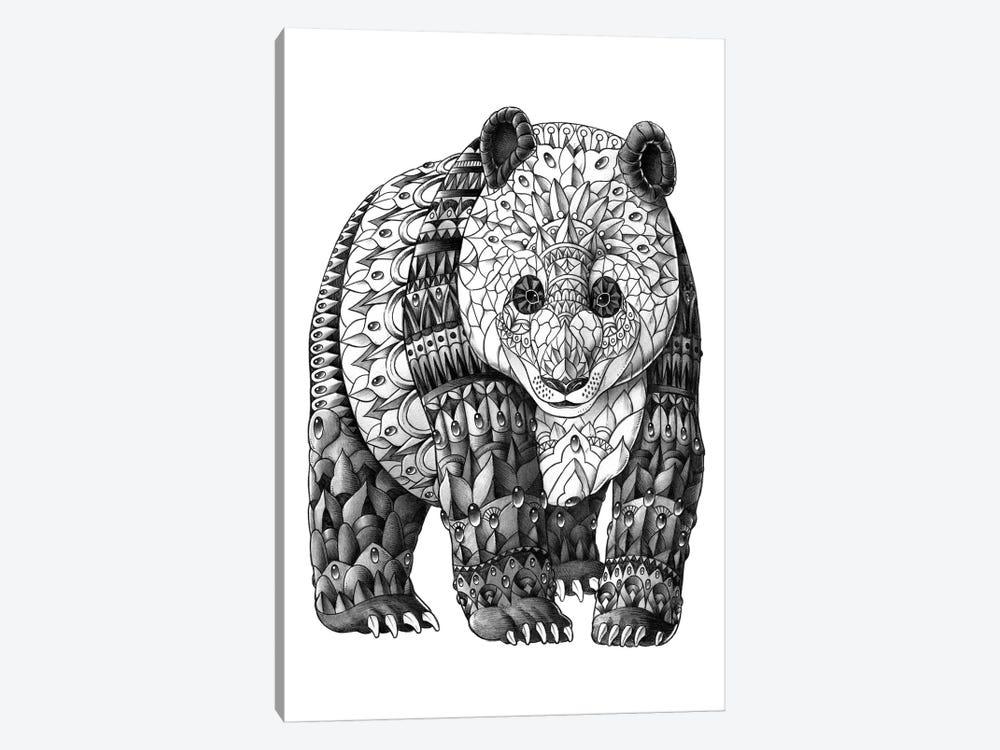 Panda by Bioworkz 1-piece Canvas Art Print