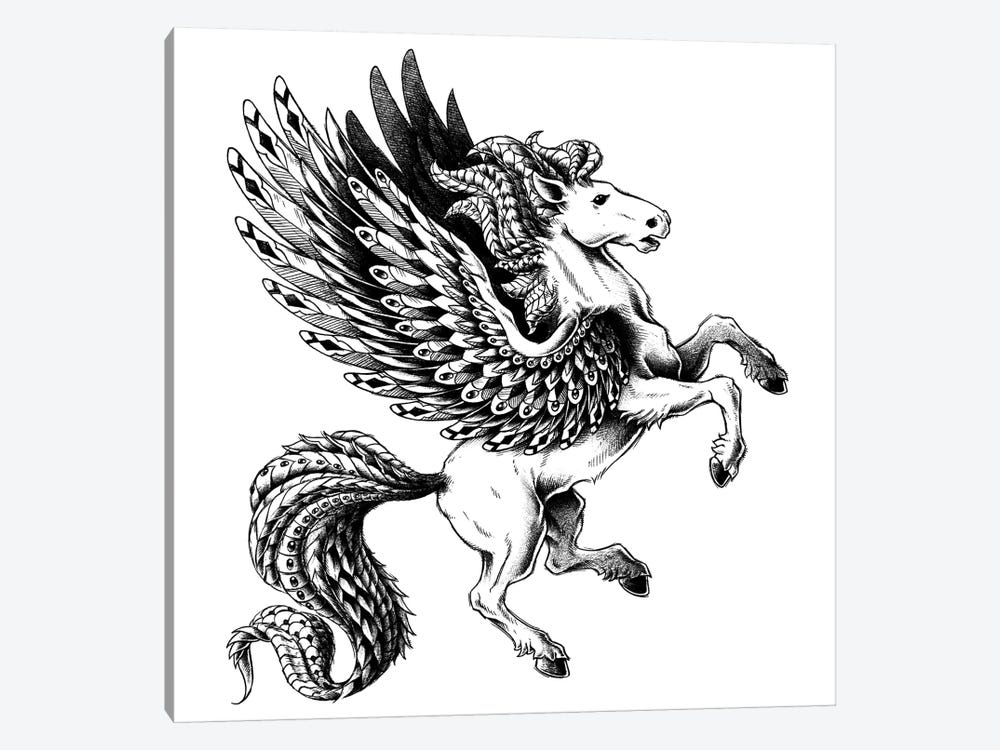 Pegasus by Bioworkz 1-piece Canvas Artwork
