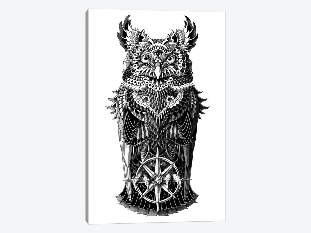 Grand Horned Owl by Bioworkz 1-piece Canvas Art