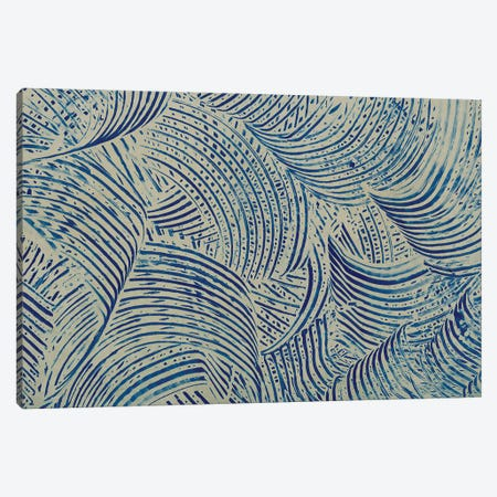 Textures in Blue V Canvas Print #BXM10} by Baxter Mill Archive Canvas Art Print