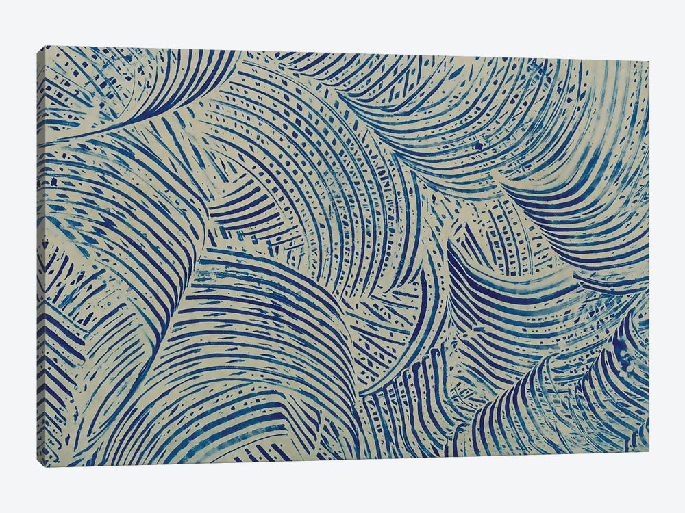 Textures in Blue V by Baxter Mill Archive 1-piece Art Print