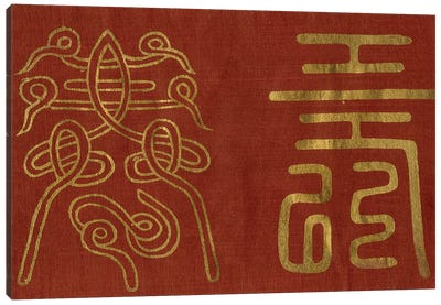 Japanese Symbols I Canvas Art Print