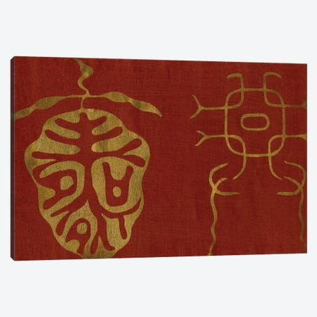 Japanese Symbols II Canvas Print #BXM4} by Baxter Mill Archive Canvas Artwork