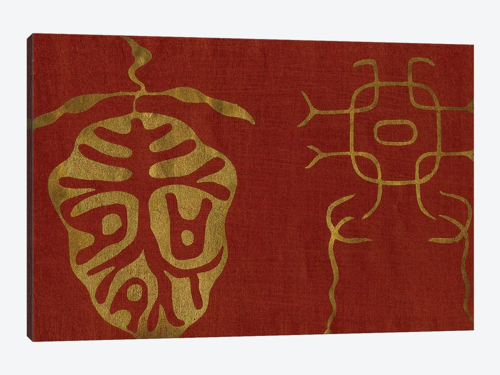 Japanese Symbols II by Baxter Mill Archive 1-piece Canvas Wall Art