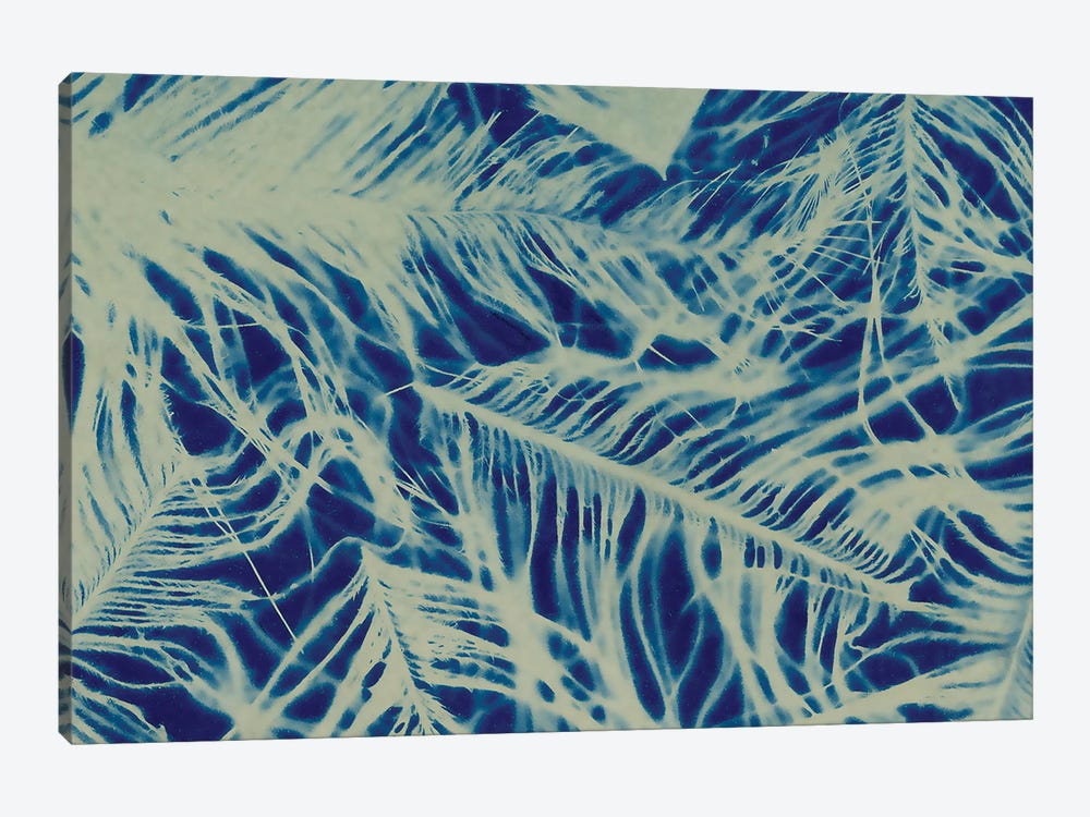 Textures in Blue IV by Baxter Mill Archive 1-piece Art Print