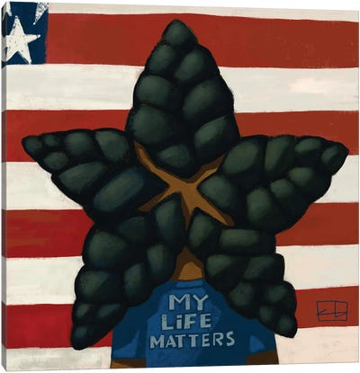 My Life Matters Canvas Art Print