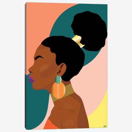 Solitude Canvas Print #BYH13} by Bee Harris Canvas Art Print