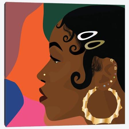 Hood Classic Canvas Print #BYH16} by Bee Harris Canvas Wall Art